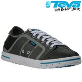 TEVA《女款》專業水運動防油防滑帆布鞋Fuse-ion - 黑灰