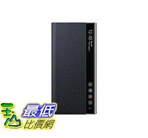 [8美國直購] 手機保護殼 Samsung Galaxy Note10+ Case, S-View Flip Cover - Black (US Version with Warranty) B07V1PDJS3