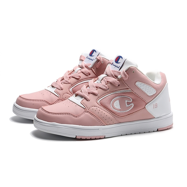 CHAMPION 籃球鞋 復古 粉紅 白 高筒 女 (布魯克林) 911220160