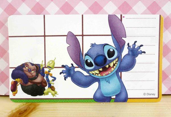 【震撼精品百貨】Stitch_星際寶貝史迪奇~卡片-張手兩人