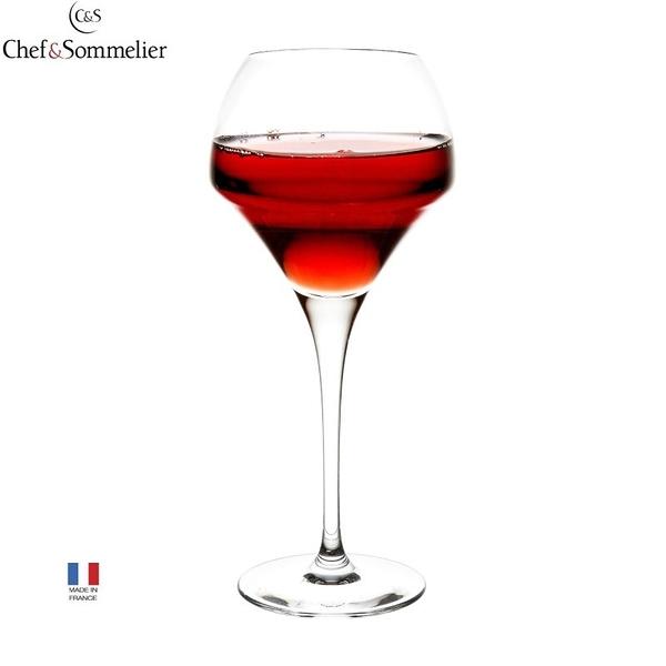 法國Chef & Sommelier水晶玻璃杯370ml 高腳杯 紅酒杯 C&S 水晶杯