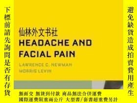 二手書博民逛書店【罕見】2008年出版 Headache And Facial