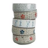 【618好康鉅惠】竹木本記8寸大湯盆創意陶瓷碗日式釉下彩手繪