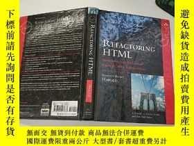 二手書博民逛書店Refactoring罕見HTML:Improving the