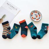 兒童襪子春冬季新款4全棉中筒襪2可愛卡通1-3歲寶寶襪子  萬客居
