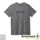 【SmartWool 美國 男 Merino Sport 150 好友時光T恤《淺灰色》】SW016281/排汗衣/ 機能衣