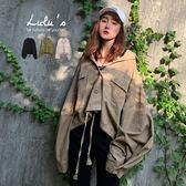 LULUS-E袖釦造型寬鬆襯衫/外套-3色  【01190576】