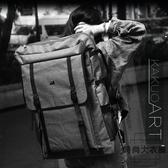 畫袋4K四開雙肩大容量防水畫板包美術寫生包【時尚大衣櫥】