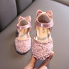 女童涼鞋 女童公主鞋春夏季新款女寶寶正韓包頭兒童軟底涼鞋小女孩水晶-Ballet朵朵