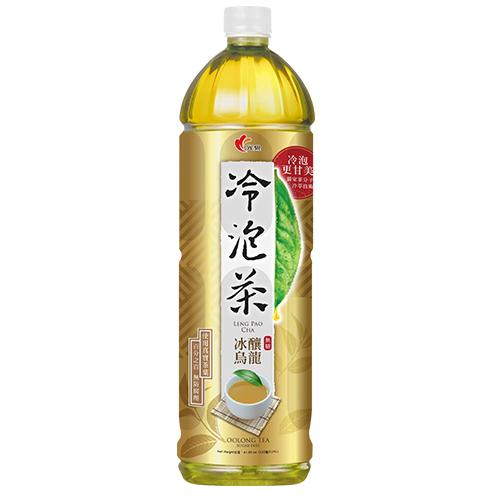 光泉冷泡茶-冰釀烏龍(無糖)1235ml【愛買】
