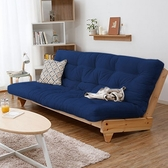 沙發床 北歐日式可折疊沙發床兩用客廳小戶型單人多功能雙人實木布藝沙發 快速