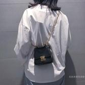 小包包迷你手提小包包女2019新品潮百搭單肩少女鏈條斜挎蹦迪包【快速出貨】