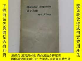 二手書博民逛書店Magnetism罕見of metals and alloysY22264 看圖 看圖 出版1959