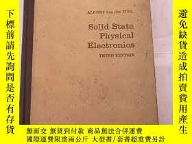 二手書博民逛書店solid罕見state physical electronic