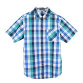 『小鱷魚童裝』格紋襯衫(12號~18號)533103