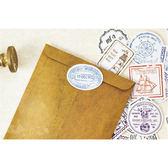 手帳貼紙│旅行郵戳盒裝貼紙