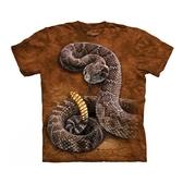 【摩達客】(預購)美國進口The Mountain 響尾蛇 純棉環保短袖T恤(10415045075)