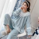 珊瑚絨睡衣女冬加厚加絨法蘭絨公主風甜美可愛套裝家居服春秋冬季 依凡卡時尚