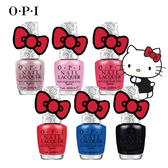 美國 OPI Hello Kitty系列指甲油 多色可選 限量【櫻桃飾品】【21353】