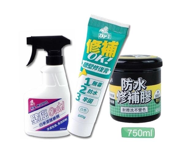 【超人百貨T】Finesil-DIY 壁癌修復組(大) 防漏水 壁癌根治 簡單DIY好上手 快速有效