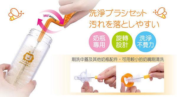 【奇買親子購物網】小獅王辛巴simba旋轉式奶瓶刷(豬毛)