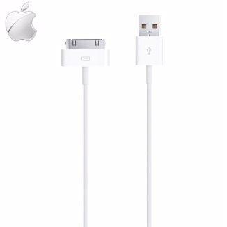 Apple IP4 原廠充電線 iPhone 4S/4/3GS iPad iPad 2 iPod 原廠傳輸線 數據傳輸線 充電線(裸裝) (約1M)