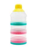 奶粉罐 日本奶粉盒便攜外出奶粉分裝儲存盒寶寶三層奶粉格 WW