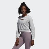 【雙12折後$2080】L- adidas 3-STRIPES PERF SWET 灰 愛迪達 運動 休閒長T 長袖 上衣 女款 FJ7320