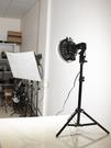 補光燈100W太陽視頻拍攝補光燈高功率人像服裝直播拍照攝影棚常亮打光燈 智慧 618狂歡