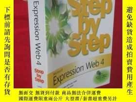 二手書博民逛書店Microsoft罕見Expression Web 4 Step