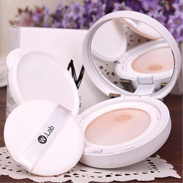 韓國 W.Lab 雪嫩亮白CC氣墊水凝霜粉餅(15g) 兩色可選【櫻桃飾品】【25018】