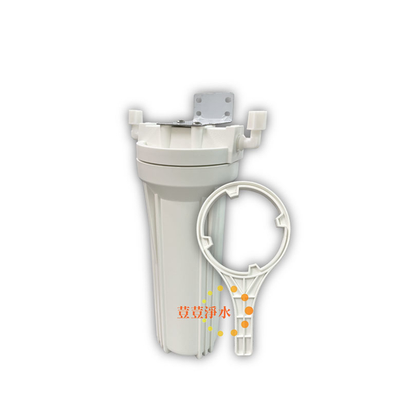 台灣製造 10吋標準型單道式過濾器 2分 4分進出水 荳荳淨水
