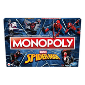 Monopoly地產大亨 地產大亨蜘蛛人游戲組 玩具反斗城