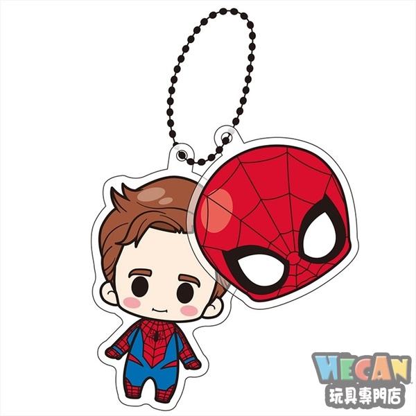 Marvel Xbuddies 面具吊飾 彼得帕克 (蜘蛛人) (TAKARA TOMY) 53839