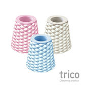 (兩入)日本Trico 菱格珪藻土牙刷架(粉紅)