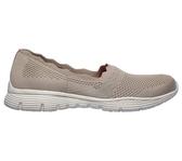 Skechers Seager [158011TPE] 女鞋 運動 健走 休閒 懶人 舒適 穿搭 緩震 透氣 步行 米