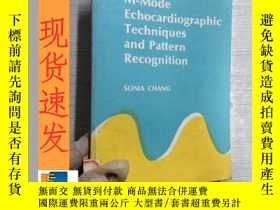 二手書博民逛書店英文書罕見m-mode echocardiographic techniques and pattern reco