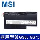 MSI BTY-M6J . 電池GS73 6RF 7RE 8RF 8RD 8RE 8RF Stealth Pro 009 GS73VR 6RF 7RE 7RG Stealth Pro 225 033 025