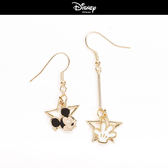 【迪士尼系列】米奇星星垂墜耳環~夏綠蒂didi-shop