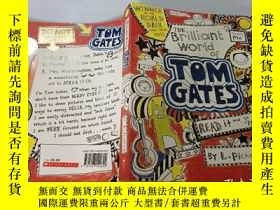 二手書博民逛書店The罕見Brilliant World of Tom Gates:湯姆·蓋茨的輝煌世界Y200392
