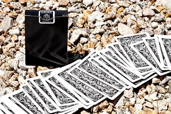 【USPCC 撲克】BAROQUE DECK OF CARDS 巴洛克 黑色 撲克