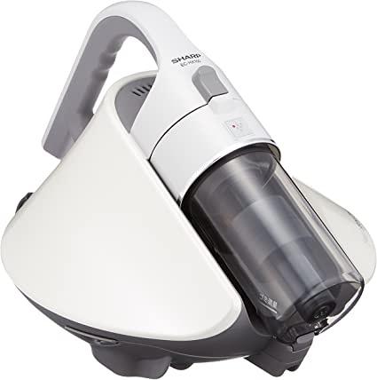 SHARP【日本代購】夏普 搭載淨離子 塵蟎機 旋風被褥吸塵器EC-HX150 - 白色