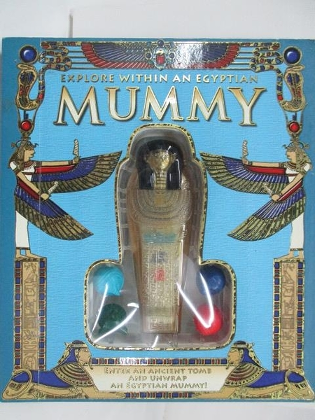 【書寶二手書T2/少年童書_DTF】Explore Within an Egyptian MUMMY