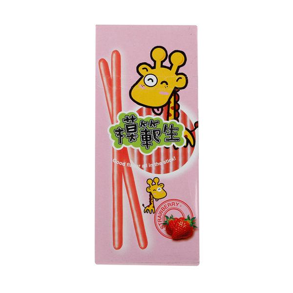 模範生巧克力棒(草莓味) 25g ◆86小舖 ◆