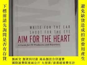 二手書博民逛書店英文原版罕見Aim for the Heart by Al To