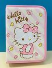 【震撼精品百貨】Hello Kitty_凱蒂貓~Sanrio HELLO KITTY多功能收納包-條紋心#58057