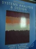 【書寶二手書T5/大學資訊_PNE】Modern Systems Analysis & Design