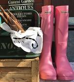 雨靴 雨鞋女士水鞋高筒長筒時尚款外穿膠鞋防水防滑套鞋成人水靴雨靴女 維多原創