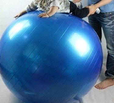 [衣林時尚] 100cm GYM BALL 瑜珈球 (藍色) 附打氣筒