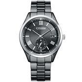 CITIZEN 星辰 光動能小秒針手錶-38.5mm(BV1125-97H)